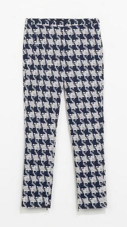 Zara Houndstooth Trouser $59.60