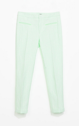 Zara Jacquard Trousers $59.90