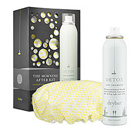 Dry Shampoo & Shower Cap Set $35