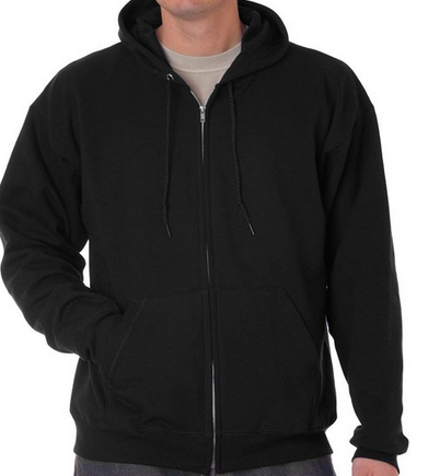 Hanes Men's ComfortBlend Full-Zip Hood 7.8 oz Ash Small $14.68 - $58.99