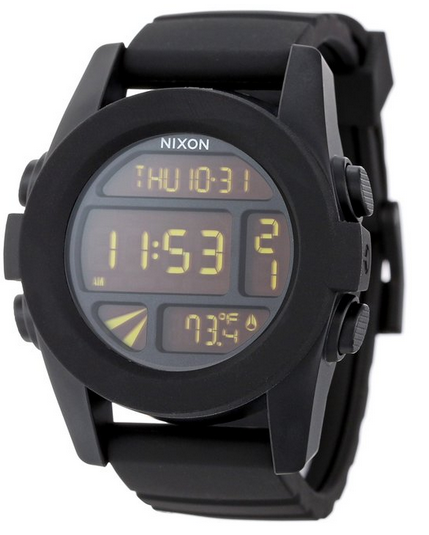 Nixon The Unit Watch in Black $103.88