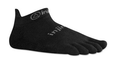 Injinji RUN 2.0 Lightweight No-Show Socks $12