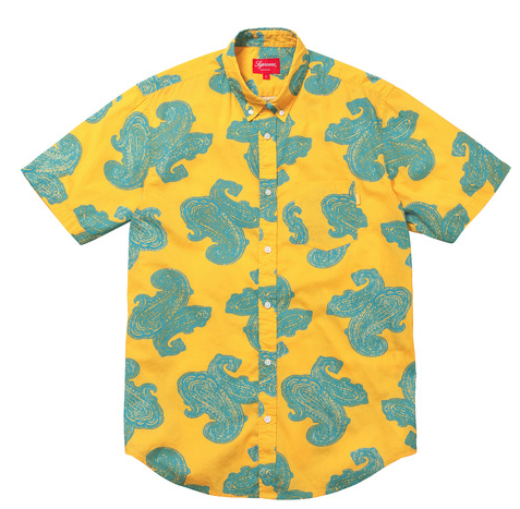 Paisley shirt $110