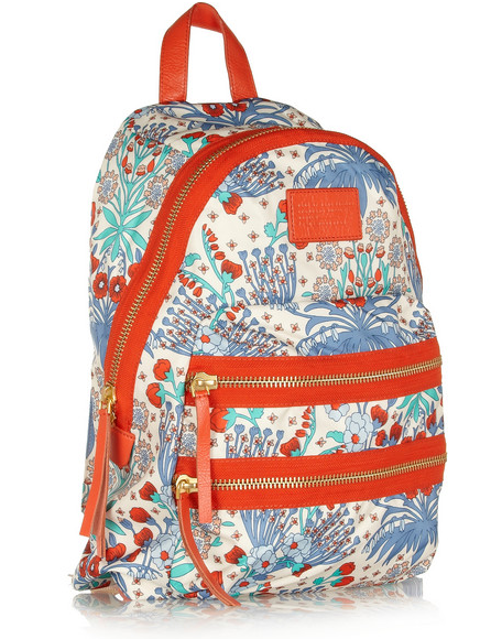 MARC BY MARC JACOBS Domo Arigoto floral-print twill backpack $200