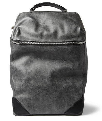 ALEXANDER WANG  WALLIE WASHED-LEATHER BACKPACK $1,150
