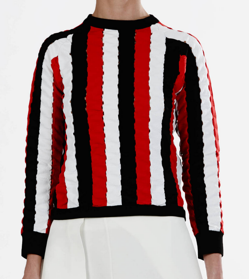 JW Anderson Wave Raglan Sweater $1210