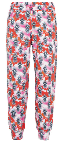 HOUSE OF HOLLAND Printed cotton-jersey track pants $190