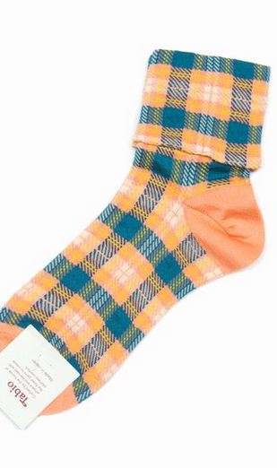 Tabio Plaid Socks $ 20.00