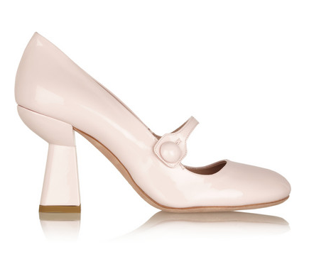 MIU MIU Patent-leather Mary Jane pumps $645