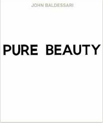 John Baldessari Pure Beauty Book $50
