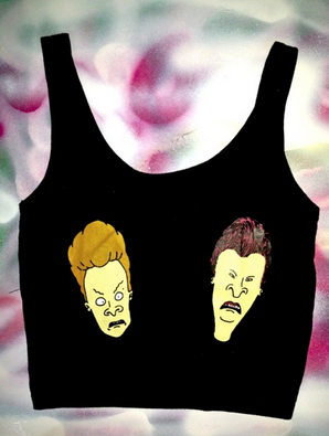 BEAVIS & BUTTHEAD TITS IN BLACK $40.35