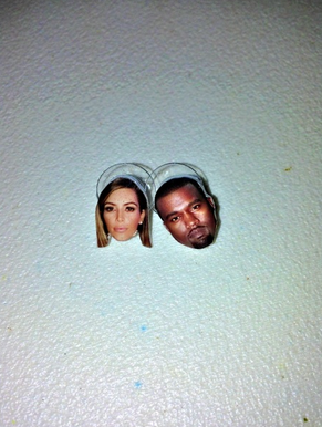 KIMYE EARRINGS $21.85