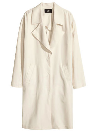 H&M Lyocell-blend Coat $59.95