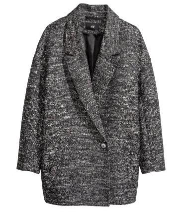H&M Melange Coat $59.95