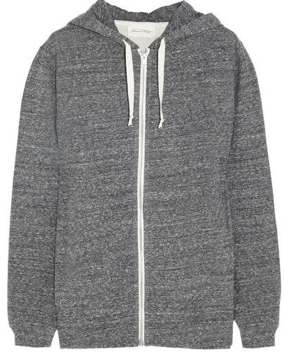 American Vintage Cotton-Jersey Hooded Top $140