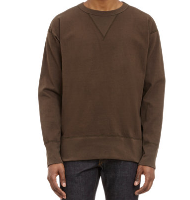 Nigel Cabourn Crewneck Sweatshirt $345