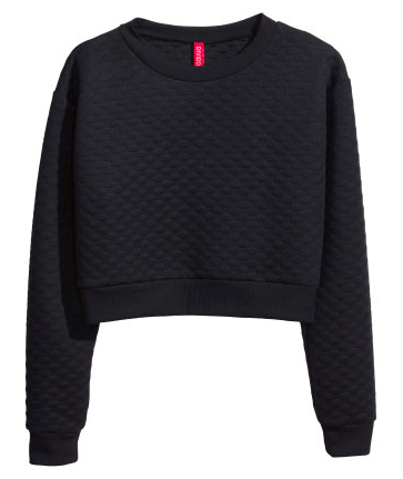 H&M Cropped Sweatshirt $24.95
