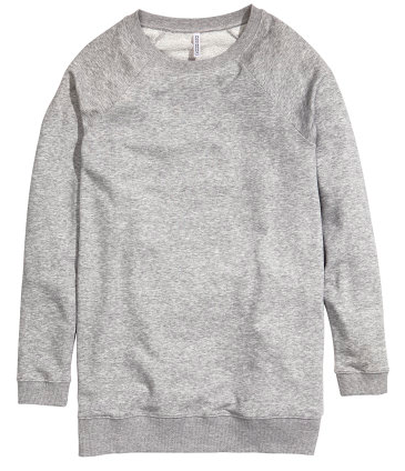H&M Long Sweatshirt $17.95