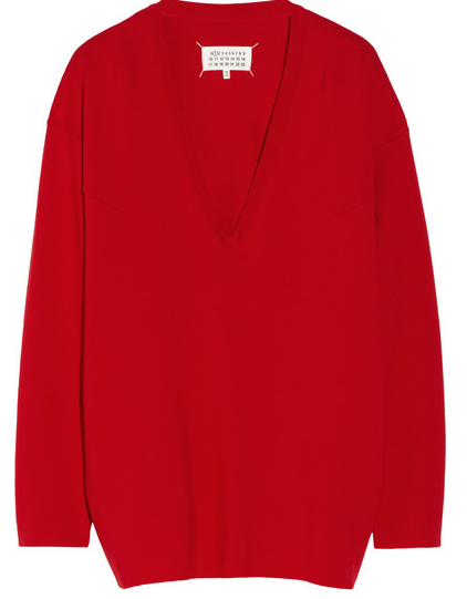 Maison Martin Margiela Oversized Wool Sweater $995