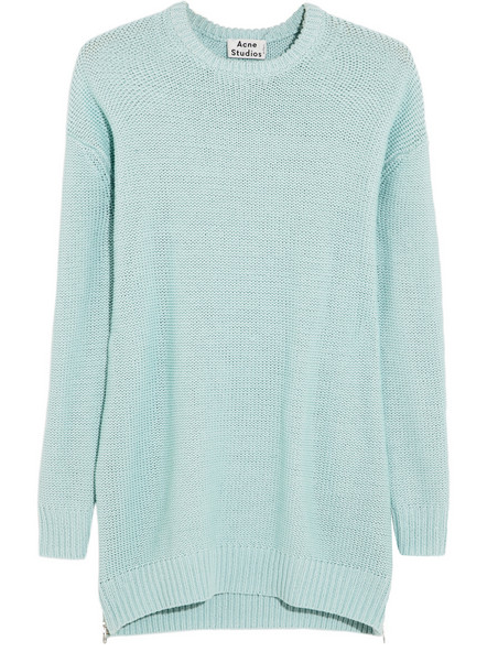 Acne Studios Oversized Chunky-knit Cotton Sweater $320