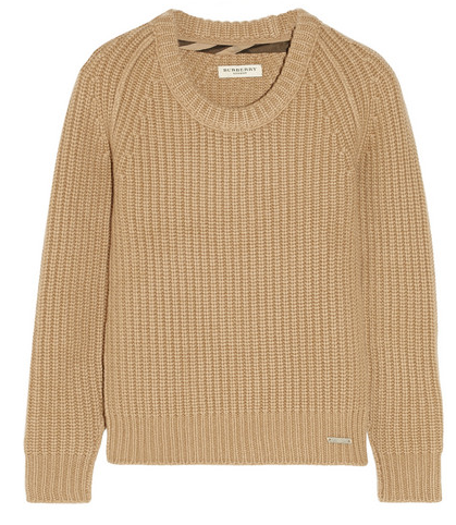 Burberry London Chunky/knit Cashmere Sweater $795