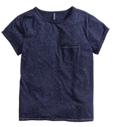 H&M Napped Jersey T-Shirt $12.95