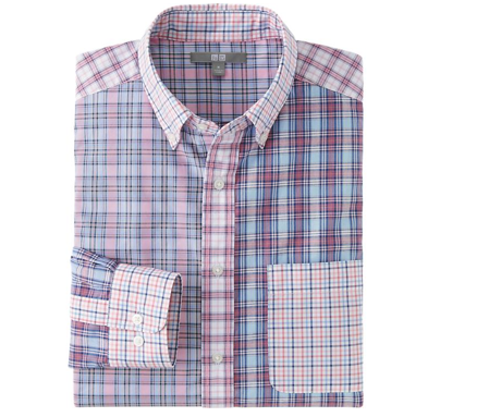 Uniqlo Men Extra Fine Cotton Broadcloth Shirt $29.90