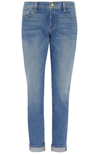 Frame Denim Mid-Rise Boyfriend Jeans $210