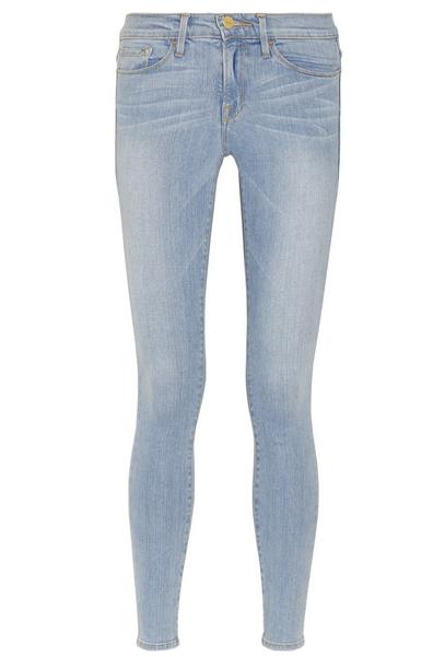Frame Denim Le Skinny de Jeanne Mid-Rise Skinny Jeans $200