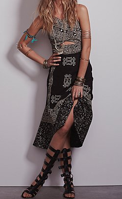 Free People Tribal Tale Dress $198