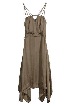 H&M Satin Dress $59.95