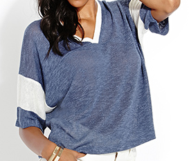 Forever 21 Fresh Marled Sweater Top $14.80