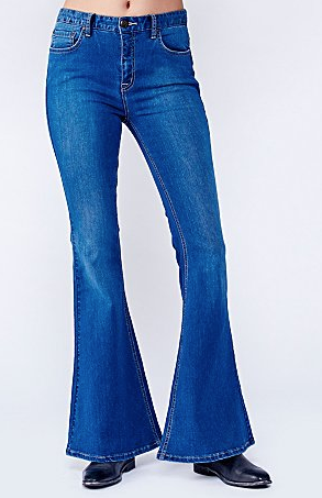 Free People Hi Rise 5 Pocket Flare $78