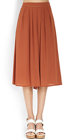 Forever 21 Pleated Culottes $17.80