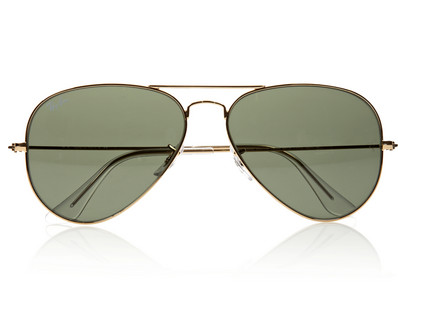 Ray-Ban Aviator Metal Sunglasses $145