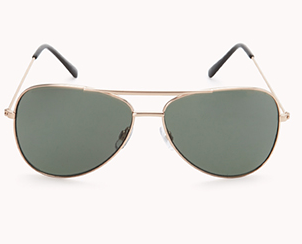 Forever 21 F4374 Iconic Aviator Sunglasses $5.80