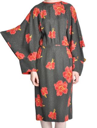 Chloe' Vintage Floral Kimono Dress $742.50