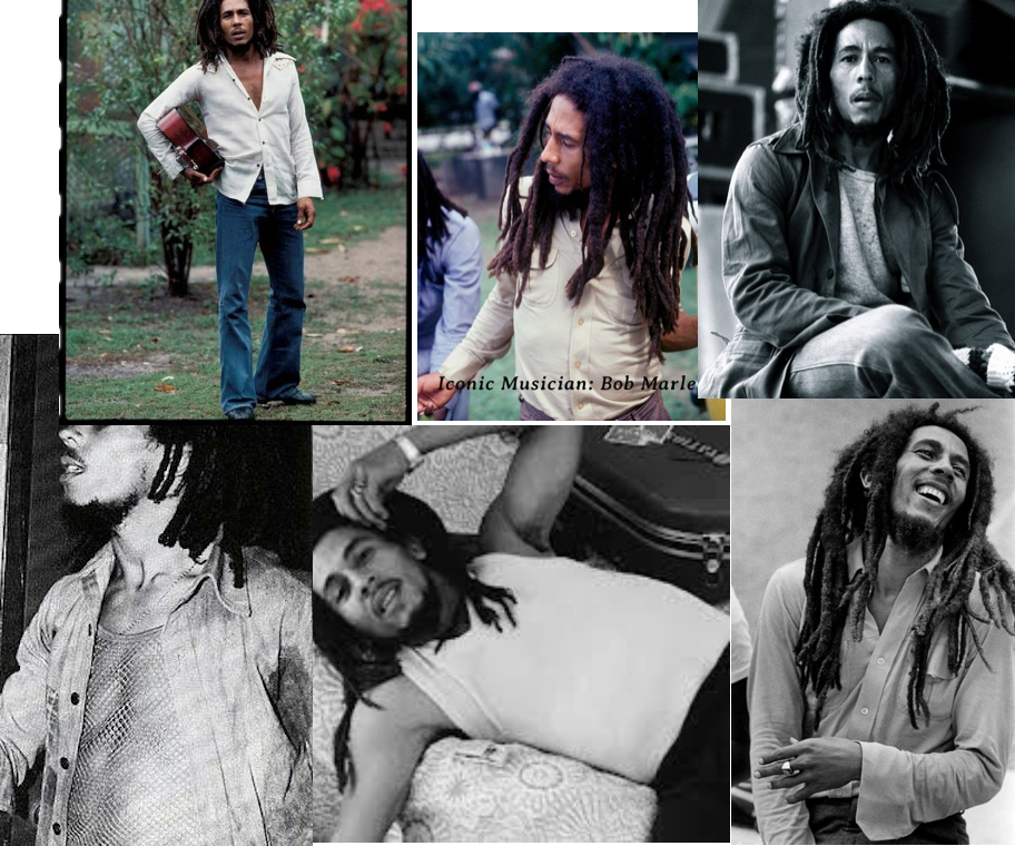 Bob Marley Collage