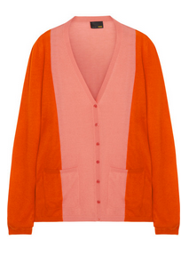 FENDI Color-block cashmere cardigan $1100