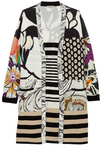ETRO Printed knitted cardigan $1430