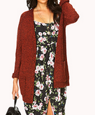 Forever 21 Borrowed From The Boys Cardigan $29.80