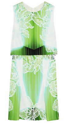 PETER PILOTTO MT printed stretch-silk mini dress $1295