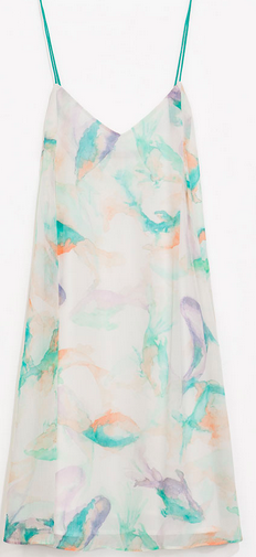 Zara Printed Dress $79.90