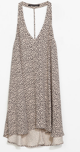 Zara Heart Print Dress $79.90