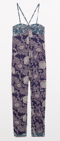 Zara Flower Printed Jumpsuit $79.90