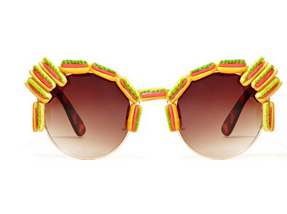 Gasoline Glamour Hot Dog Shades $55.00