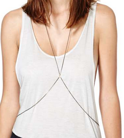 Mix It Up Body Chain $20.00