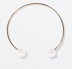 Zara Choker with Pearls $19.90