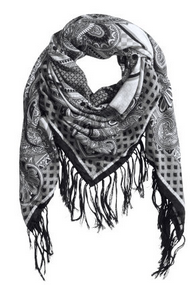 H&M Patterned Scarf $12.95