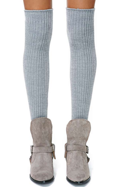 Cloudy Skies Thigh High Socks $28.00
